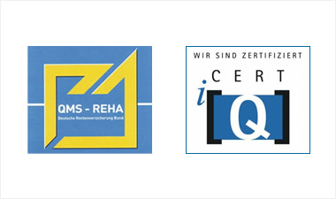 Zertifizierungen der Römerbadklinik